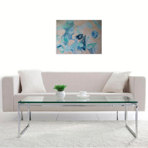 The Island by Sirenes, Arcylic on Canvas