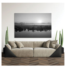 """Mirror"" by Scott Mallon, Photography Print on Brushed Aluminum"
