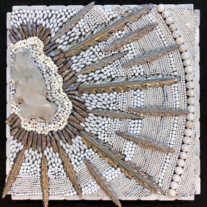 """Solar Burst"" by Susan Wechsler, Mixed Media Mosaics"