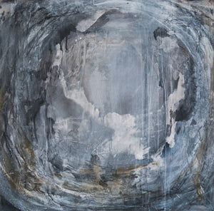 Storm by El Lovaas, Mixed Media on Canvas