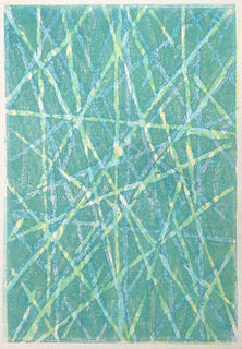 Cross Current 25 - Original Monotype Series by Jos Stumpe