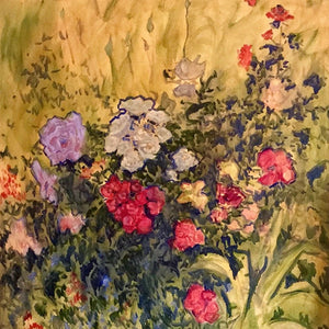 From Our Garden by Susan List, Oil on Canvas