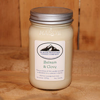 Balsam and Clove Soy Candle