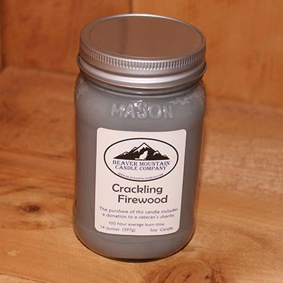 Crackling Firewood Soy Candle