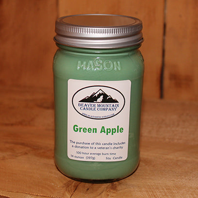 Green Apple Soy Candle