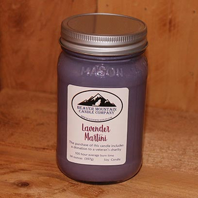 Lavender Martini Soy Candle