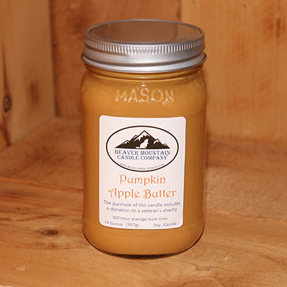 Pumpkin Apple Butter Soy Candle