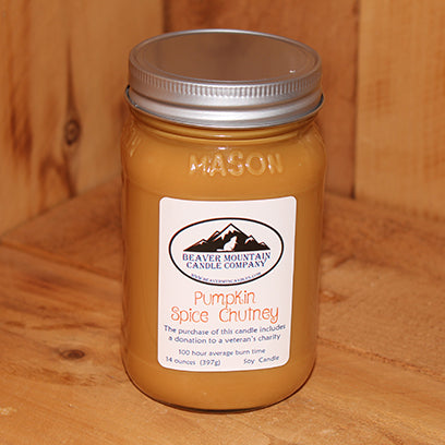 Pumpkin Spice Chutney Soy Candle