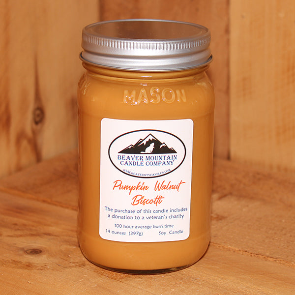 Pumpkin Walnut Biscotti Soy Candle
