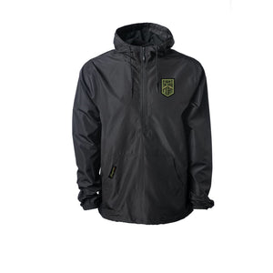 Daybreak Windbreaker Pullover Black