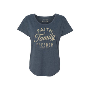 F3 Ladies Blue Tee