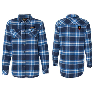 CampLife Flannel Blue/White Ladies