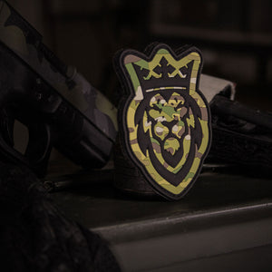 Icon Multicam PVC 3D Patch