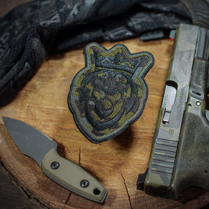 Icon Multicam Black Embroidered Patch