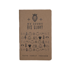 My Story His Glory Notebook 3-Pack