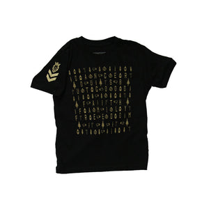 DBG Pattern Youth Black
