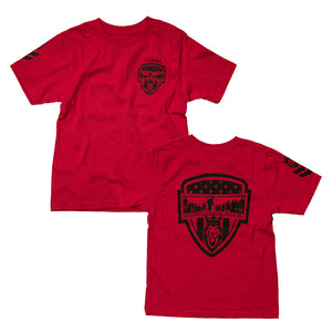 RED Warrior/Servant  Youth Tee