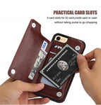 Premium Flip  Leather Wallet for  Samsung