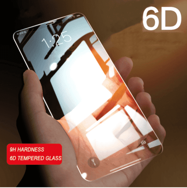 Iphone 6D Curved Edge Tempered Glass Screen Protector