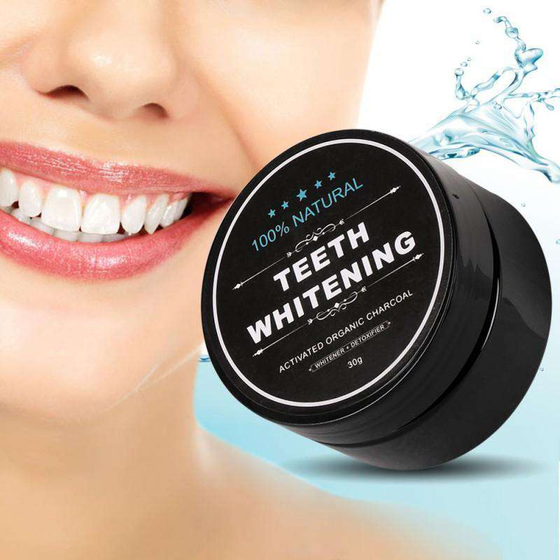 Teeth Whitening Premium Charcoal Powder