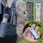 Stainless Steel Outdoor Survival Whistle