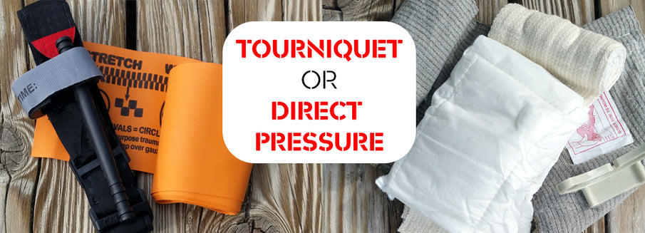 Tourniquet VS Direct Pressure