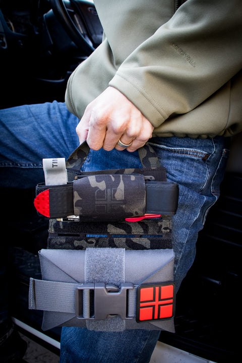 Rapid Access MOLLE Panel