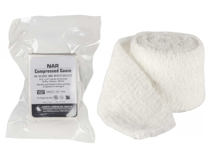 NAR Compressed Gauze