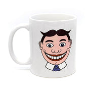 Tillie Front/Back Mug, White
