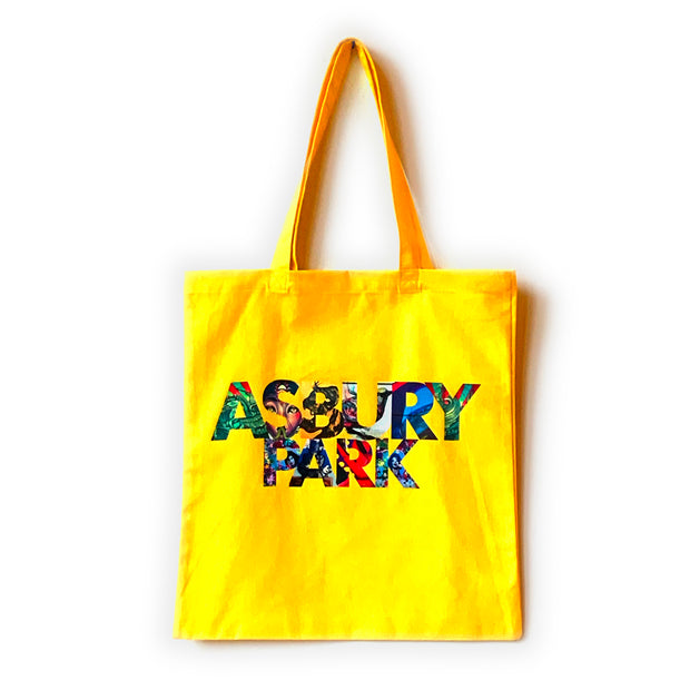 YELLOW Asbury Canvas Tote
