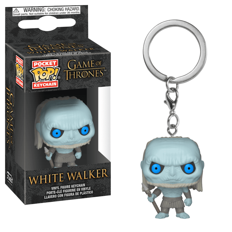 White Walker Pop! Keychain