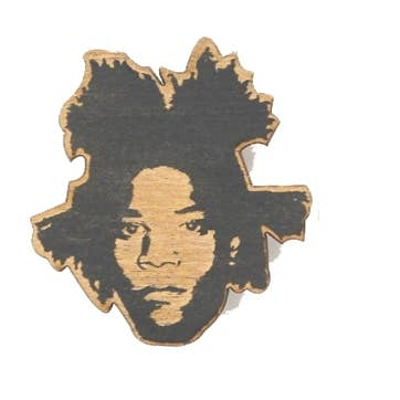 Jean Michael Basquiat Pin