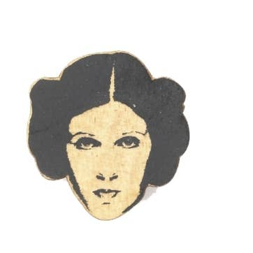 Carrie Fisher, Princess Leia Pin