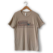 HoJo Two-Tone Tan Tee