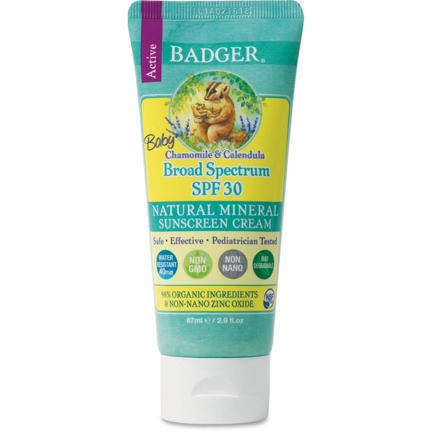 SPF30 BABY Sunscreen Cream, 2.9oz
