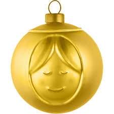 Madonna Bauble Gold, AMJ13 GD