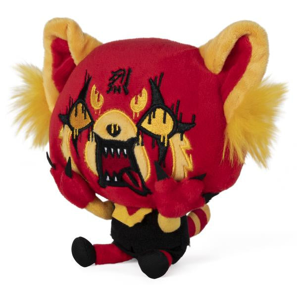 Aggretsuko Red Rage Plush, 7""