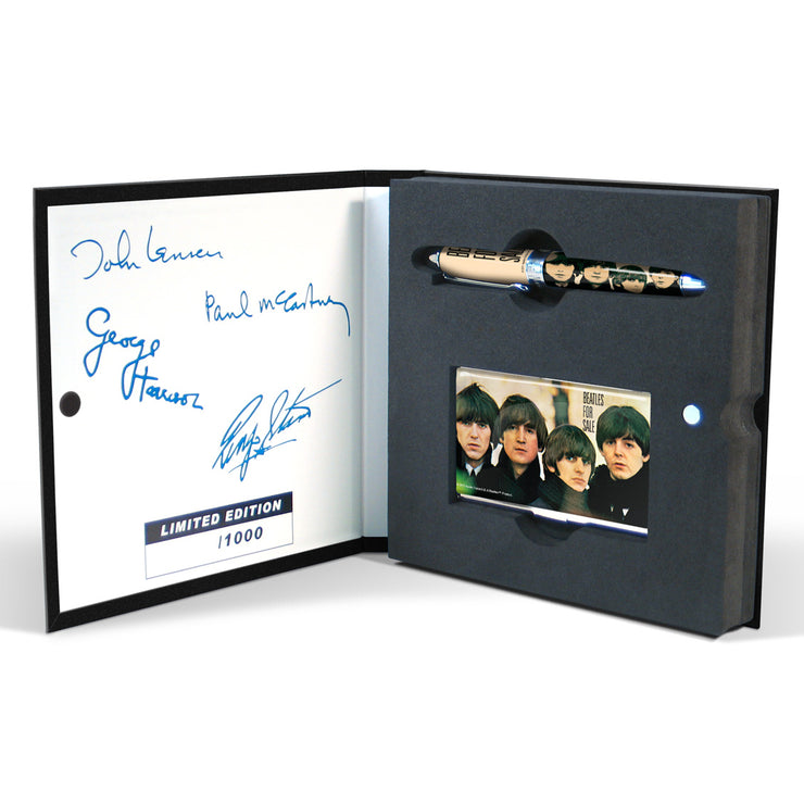"""Beatles For Sale"" Pen & Card Set"