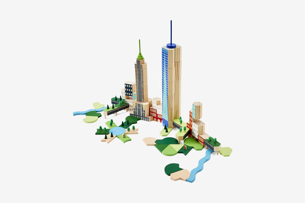 Big Apple NYC Blockitecture Set, James Paulius