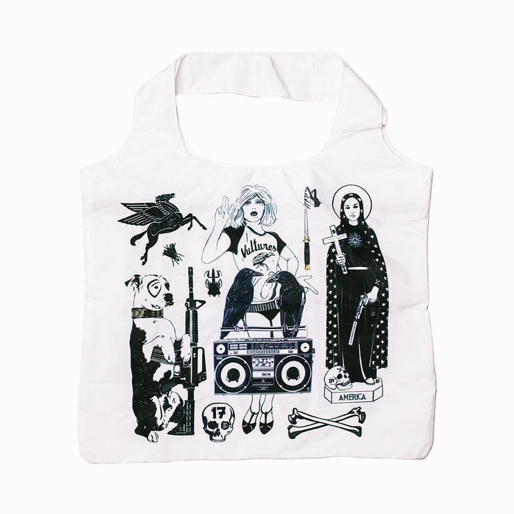 """Family Portrait"" Tote & Pouch, Dylan Egon"