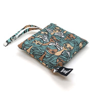 """Ode to the Ocean"" Tote & Pouch, Jeffrey Fulvimari"