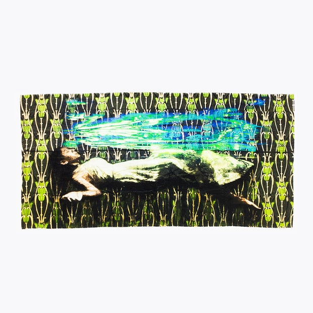 'Tangle of the Sea' Beach Towel, Logan Hicks
