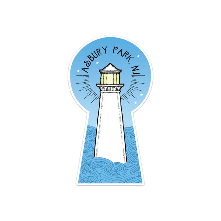 Porkchop Lighthouse Sticker