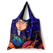 """Yemaya and Her Seabirds"" Tote & Pouch, Pau Q."