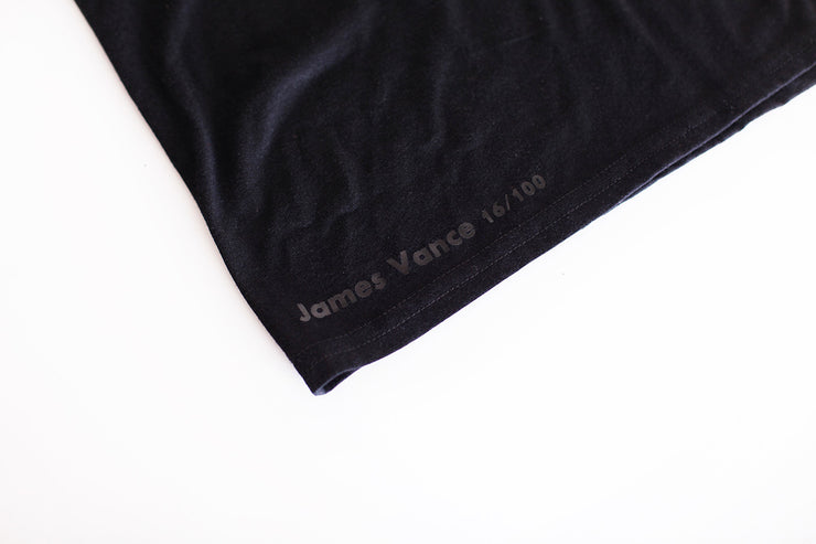 Concentric T-Shirt (Black), James Vance
