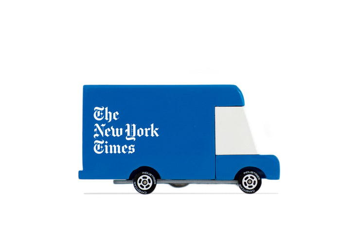 New York Times Candyvan Truck