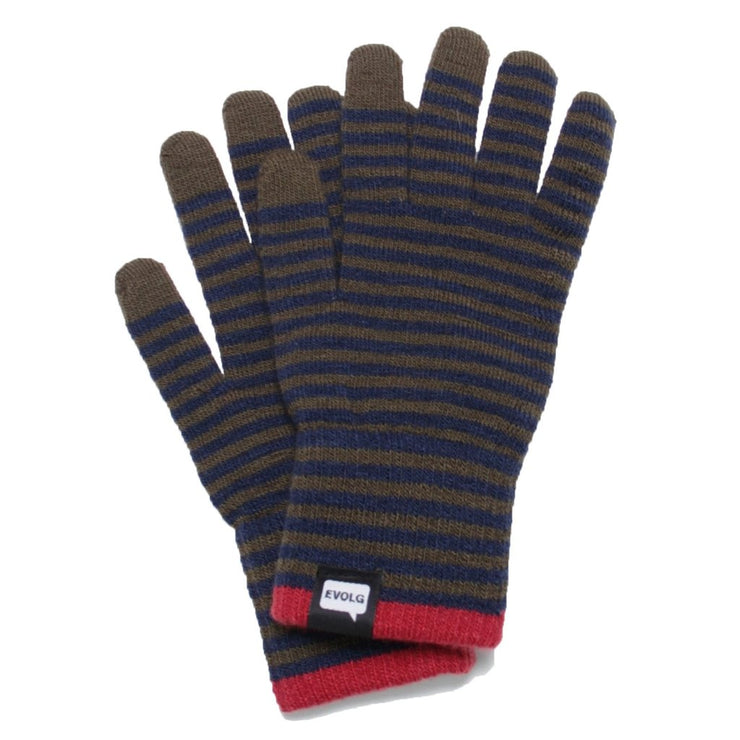 CON Olive-Navy Tech Gloves