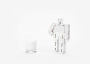 White Cubebot, Small