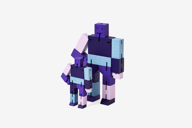 Purple Multi Cubebot, Small
