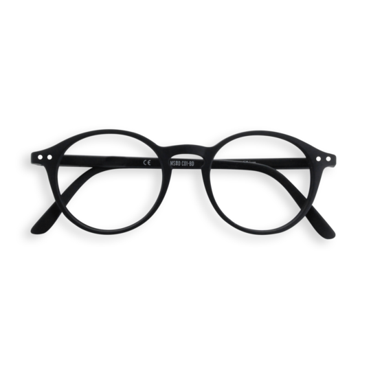 #D BLACK Reading Glasses